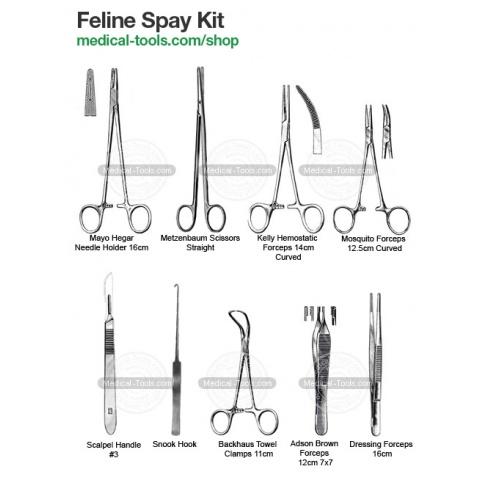 Feline Spay Surgery Kit