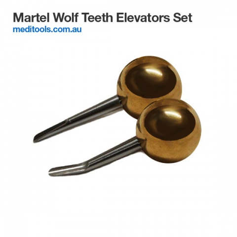 Wolf Tooth Elevator Set - Incisors Elevators Set