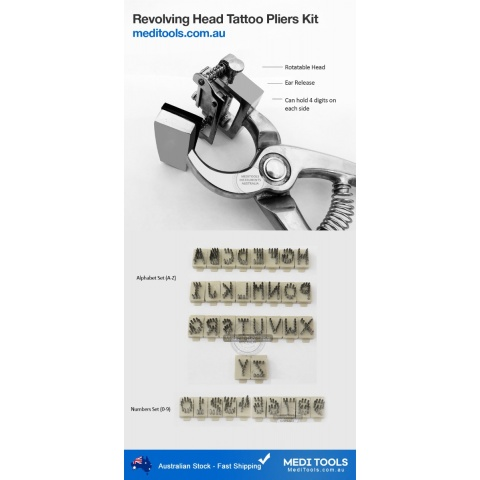 Tattoo Pliers Kit Standard