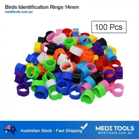 Birds Identification Leg Rings 14mm