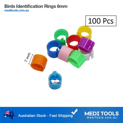 Birds Identification Rings 6mm