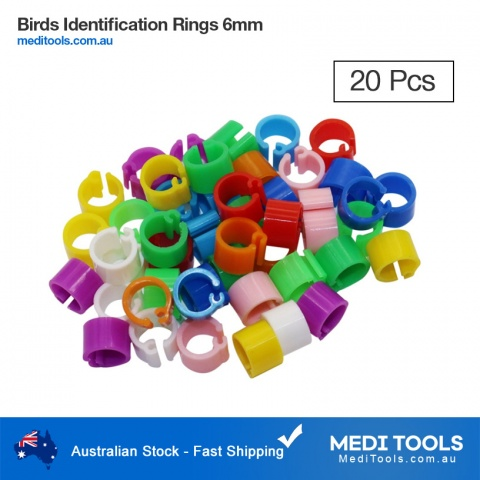 Bird Identification Rings 8mm