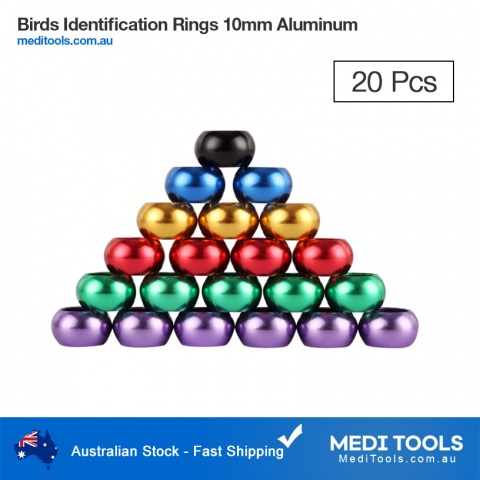 Pigeon Identification Rings 8mm