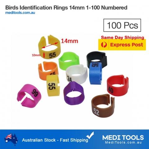 Birds Identification Rings 12mm