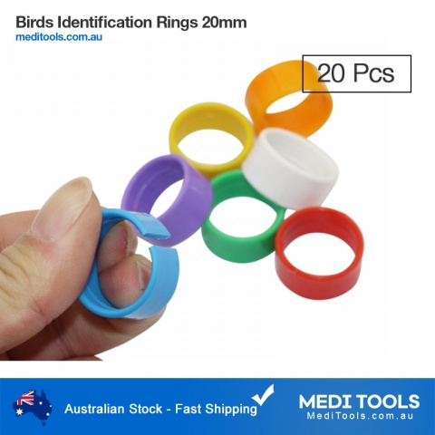 Birds Identification Poultry Large Clip 20mm