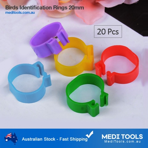 Bird Identification Rings 20mm 1-100 Numbered