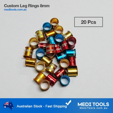 Pigeon Birds Leg Rings 8mm