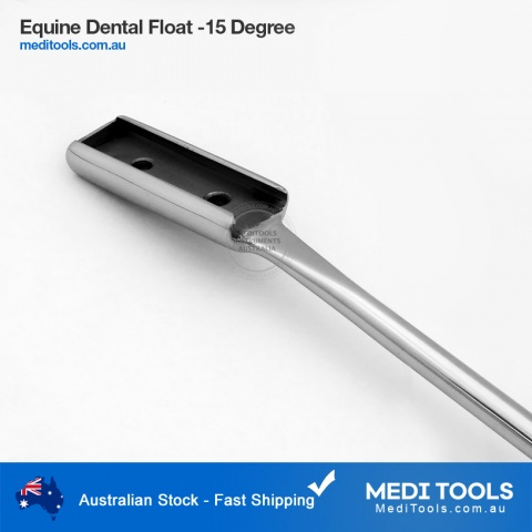 Equine Dental Float 15 Degree
