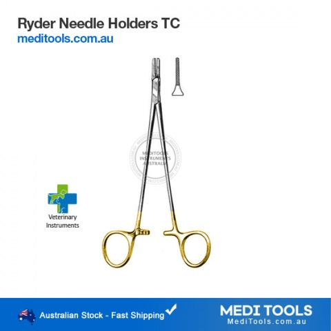 Castroviejo Needle Holder 14cm TC