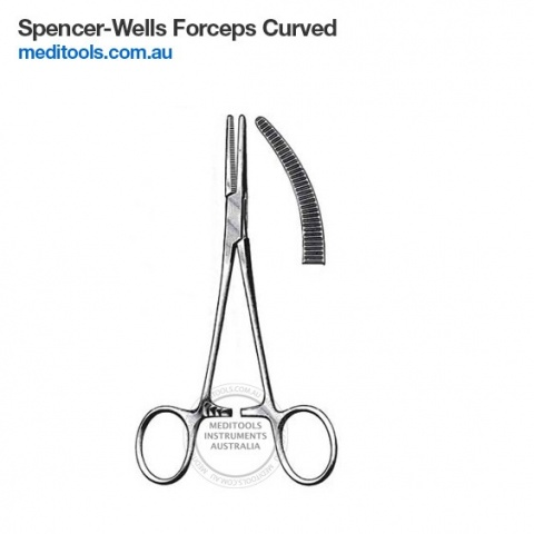 Spencer-Wells Forceps Straight